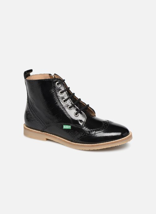Boots en enkellaarsjes Kickers Tyrol Zwart detail