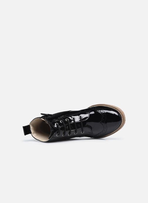Bottines et boots Kickers Tyrol Noir vue gauche