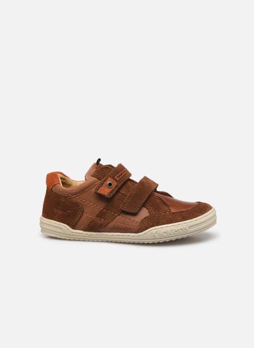 Sneakers Kickers Jammi Bruin achterkant