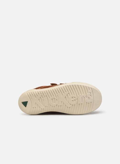 Sneakers Kickers Jammi Bruin boven