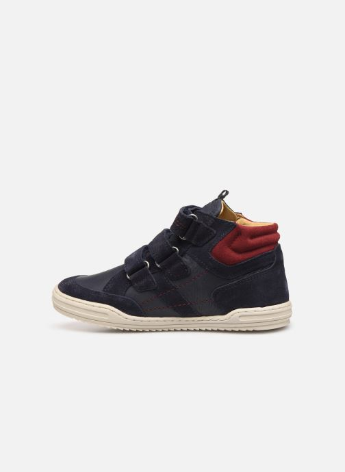 Sneakers Kickers Jappa Azzurro immagine frontale