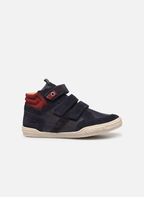 Sneakers Kickers Jappa Azzurro immagine posteriore