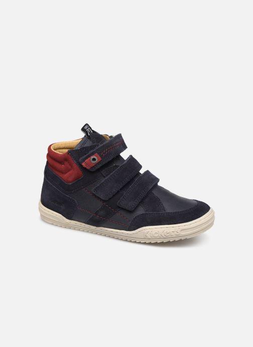 Sneakers Kickers Jappa Azzurro vedi dettaglio/paio