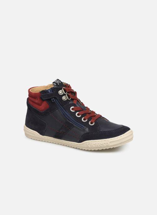 Sneakers Kickers Jake Blauw detail