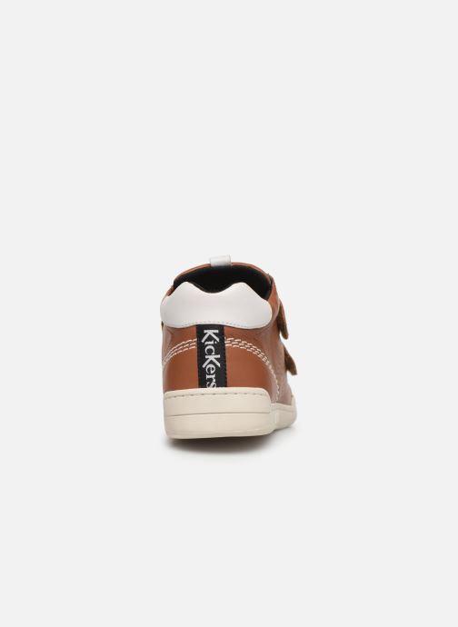 Sneakers Kickers Wip Jr Bruin rechts