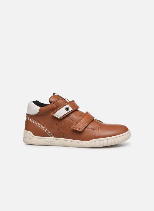 Sneakers Kickers Wip Jr Bruin achterkant