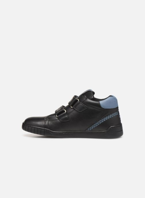 Sneakers Kickers Wip Jr Zwart voorkant