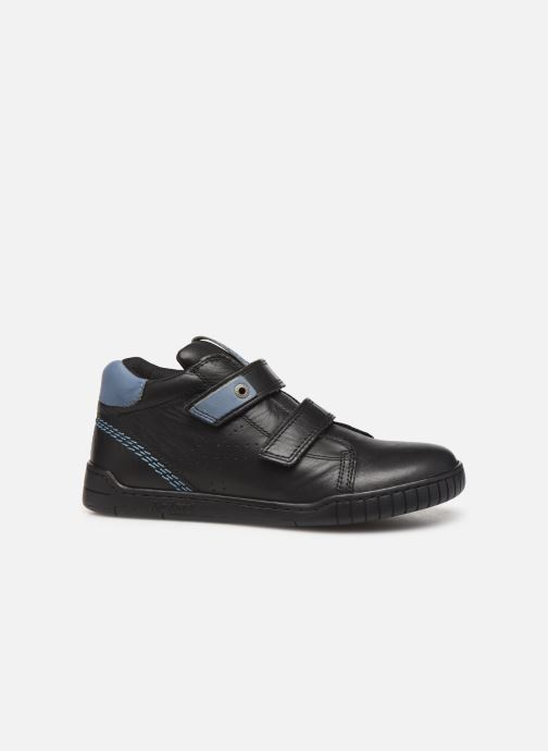 Sneakers Kickers Wip Jr Zwart achterkant