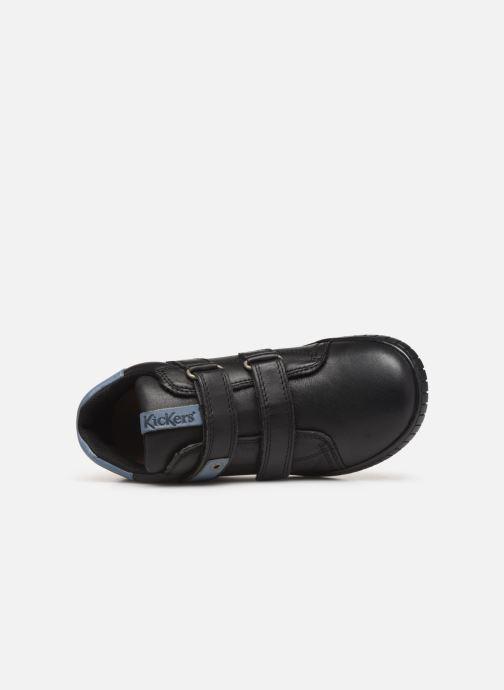 Sneakers Kickers Wip Jr Zwart links