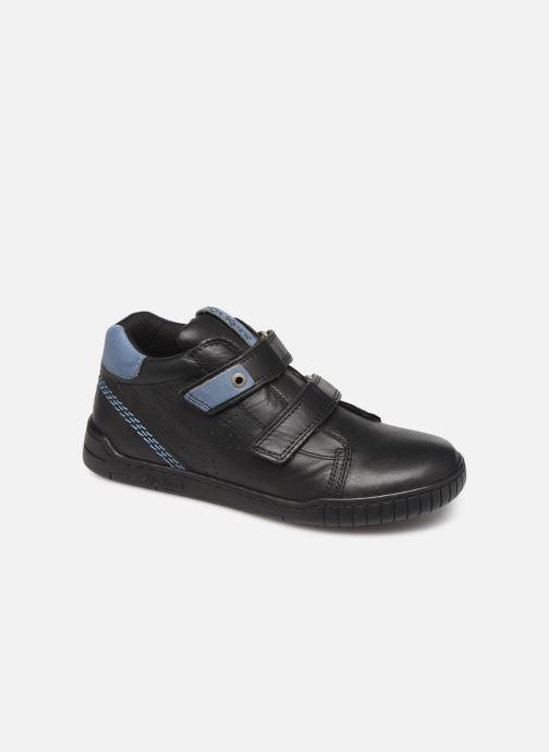 Sneakers Kickers Wip Jr Zwart detail
