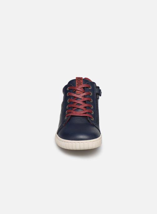 Sneakers Kickers Winley Blauw model
