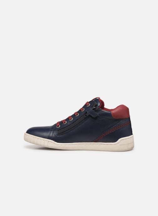 Sneakers Kickers Winley Blauw voorkant