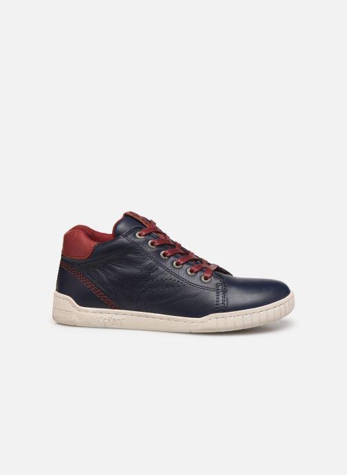 Sneakers Kickers Winley Blauw achterkant