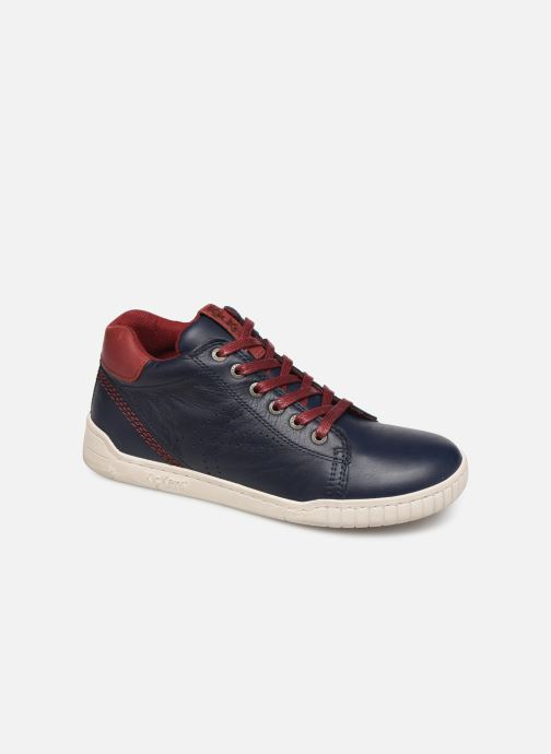 Sneakers Kickers Winley Blauw detail