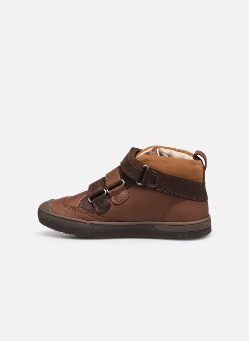 Sneakers Kickers Iristrap Bruin voorkant