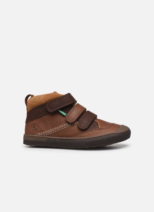 Sneakers Kickers Iristrap Bruin achterkant