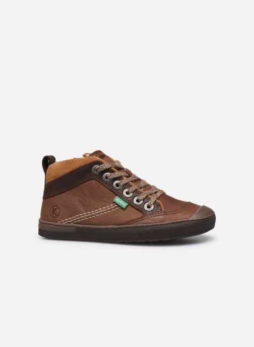 Sneakers Kickers Irmid Bruin achterkant