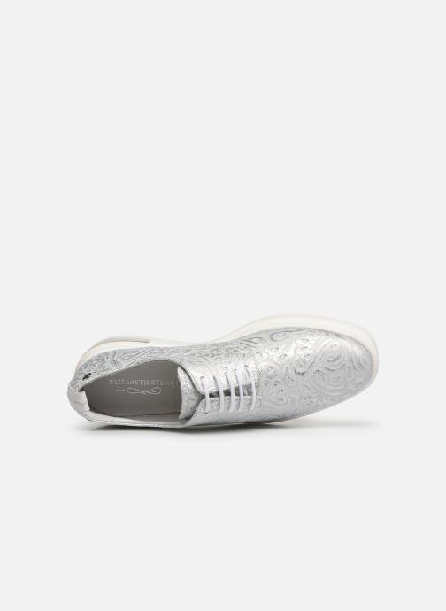 Zapatos con cordones Elizabeth Stuart Afia 809 Plateado vista lateral izquierda