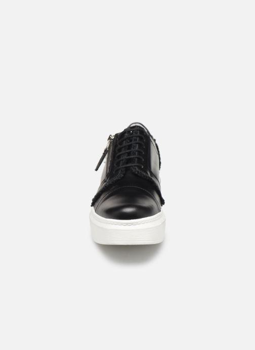 Lace-up shoes Elizabeth Stuart Afida 304-Fr Black model view