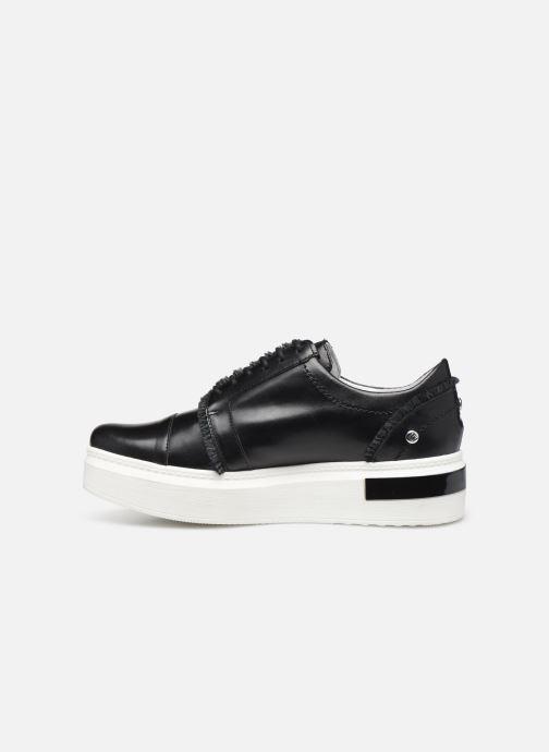 Lace-up shoes Elizabeth Stuart Afida 304-Fr Black front view