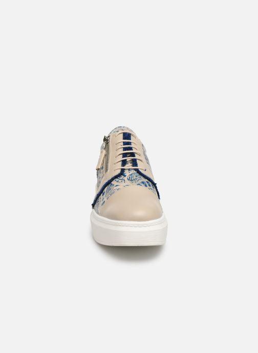 Chaussures à lacets Elizabeth Stuart Afida 850-Fr Beige vue portées chaussures