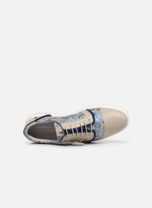 Chaussures à lacets Elizabeth Stuart Afida 850-Fr Beige vue gauche