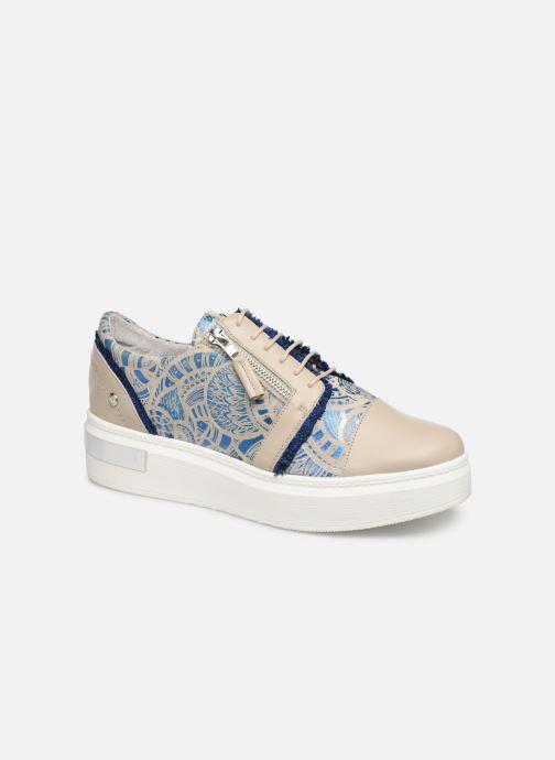 Chaussures à lacets Elizabeth Stuart Afida 850-Fr Beige vue détail/paire