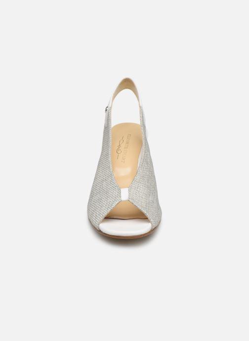 Escarpins Elizabeth Stuart Bigard 800 Blanc vue portées chaussures