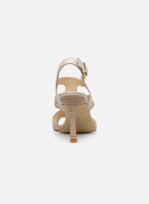 Sandales et nu-pieds Elizabeth Stuart Bofin 205 Beige vue droite