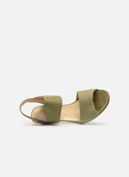 Sandales et nu-pieds Elizabeth Stuart Boka 300 Vert vue gauche