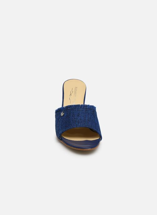 Mules et sabots Elizabeth Stuart Boly 285-Fr Bleu vue portées chaussures