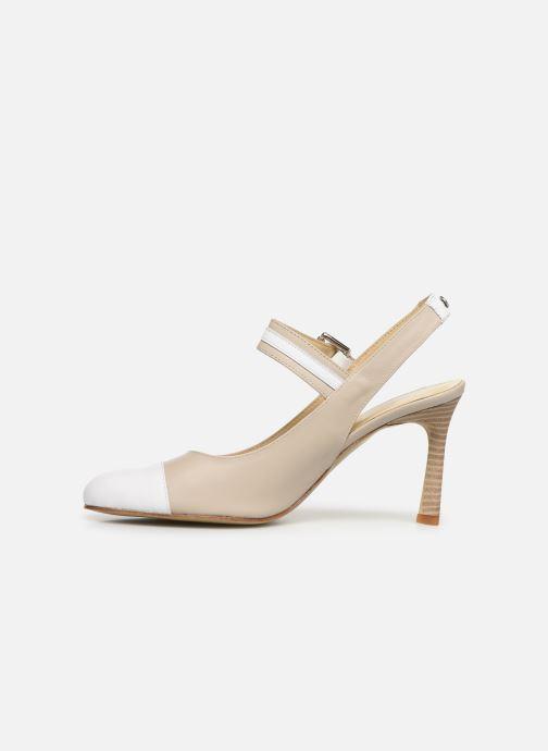 High heels Elizabeth Stuart Colt 304-2 Beige front view