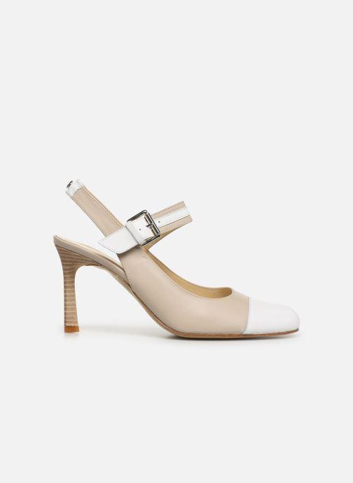 High heels Elizabeth Stuart Colt 304-2 Beige back view