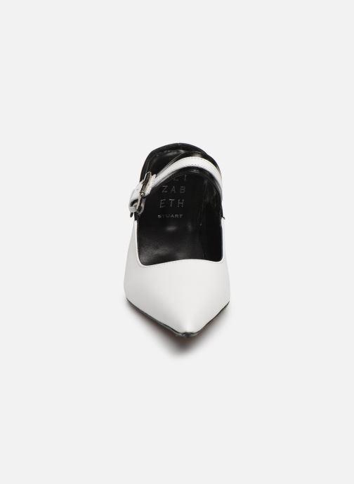Mules et sabots Elizabeth Stuart Gerso 304-2 Blanc vue portées chaussures