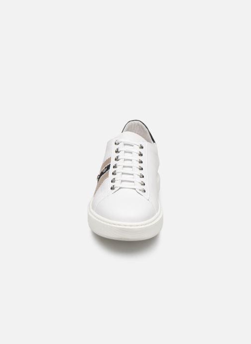Baskets Elizabeth Stuart Jeppy 304-2-S Blanc vue portées chaussures