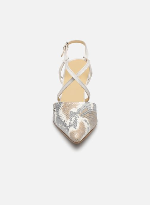 Sandales et nu-pieds Elizabeth Stuart Lyco 204 Blanc vue portées chaussures