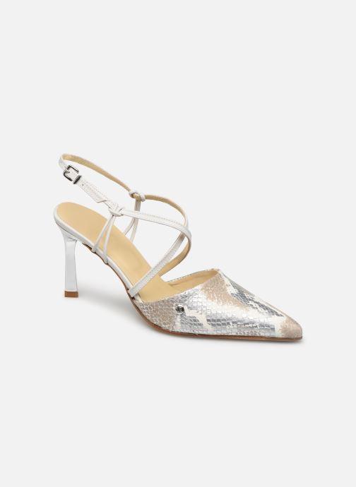 Sandales et nu-pieds Elizabeth Stuart Lyco 204 Blanc vue détail/paire