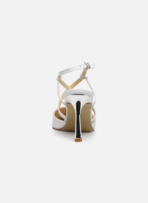 Sandali e scarpe aperte Elizabeth Stuart Lyco 304 Bianco immagine destra