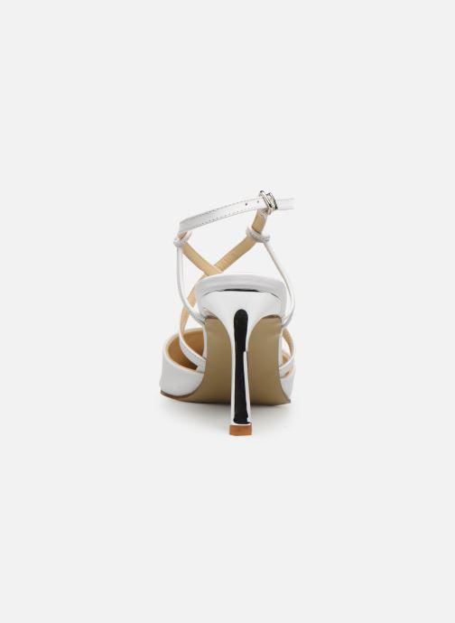 Sandales et nu-pieds Elizabeth Stuart Lyco 304 Blanc vue droite