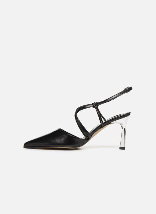 Sandals Elizabeth Stuart Lyco 304 Black front view
