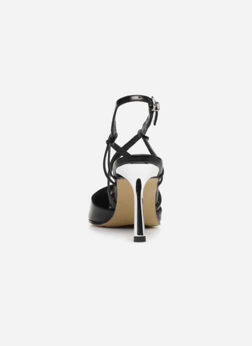 Sandals Elizabeth Stuart Lyco 304 Black view from the right