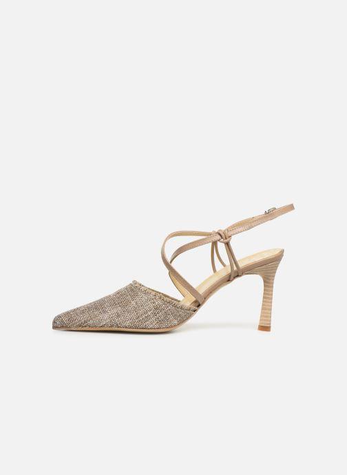 Sandales et nu-pieds Elizabeth Stuart Lyco 800-Frg Gris vue face
