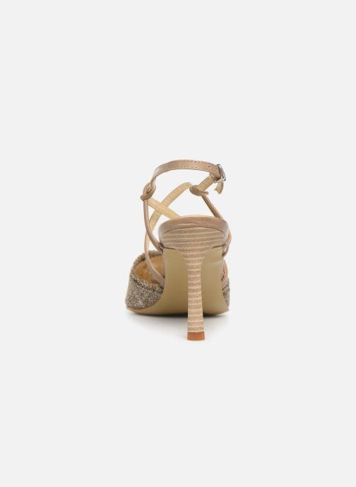 Sandales et nu-pieds Elizabeth Stuart Lyco 800-Frg Gris vue droite