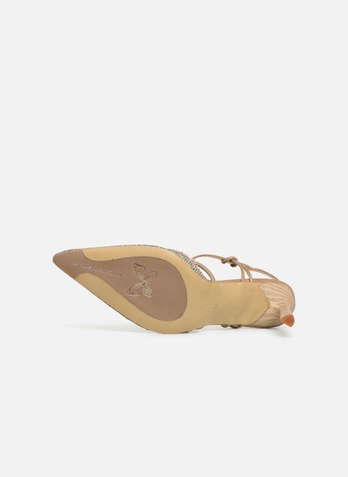 Sandales et nu-pieds Elizabeth Stuart Lyco 800-Frg Gris vue haut