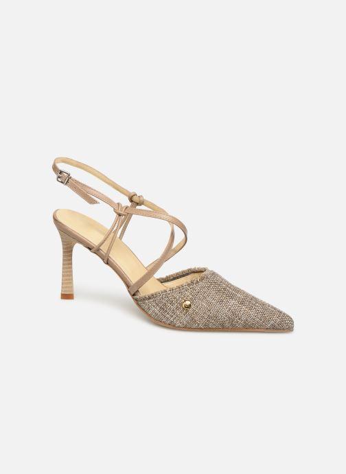 Sandales et nu-pieds Elizabeth Stuart Lyco 800-Frg Gris vue détail/paire
