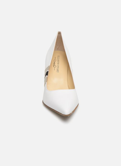 Escarpins Elizabeth Stuart Lylou 304-Sgl Blanc vue portées chaussures