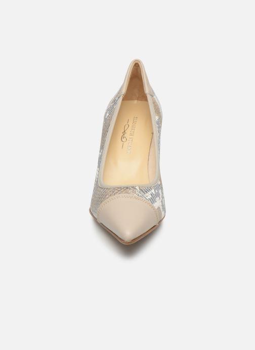 Zapatos de tacón Elizabeth Stuart Lyma 204 Beige vista del modelo