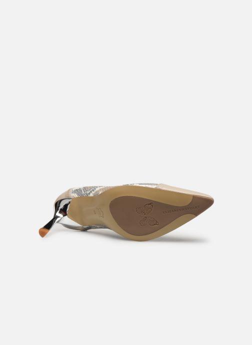 Zapatos de tacón Elizabeth Stuart Lyma 204 Beige vista de arriba