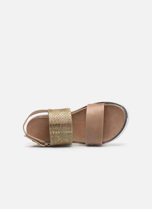 Sandales et nu-pieds Elizabeth Stuart Platon 804 Vert vue gauche