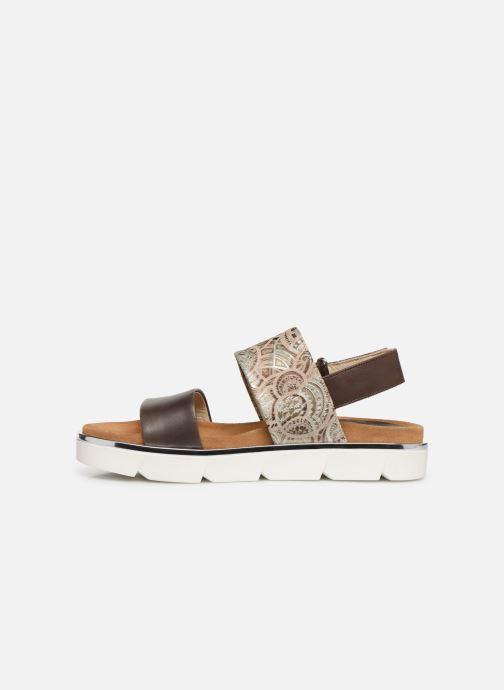 Sandales et nu-pieds Elizabeth Stuart Platon 805 Marron vue face